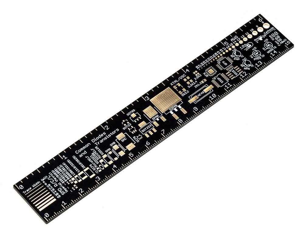"""Adafruit PCB Ruler - 6"""""""