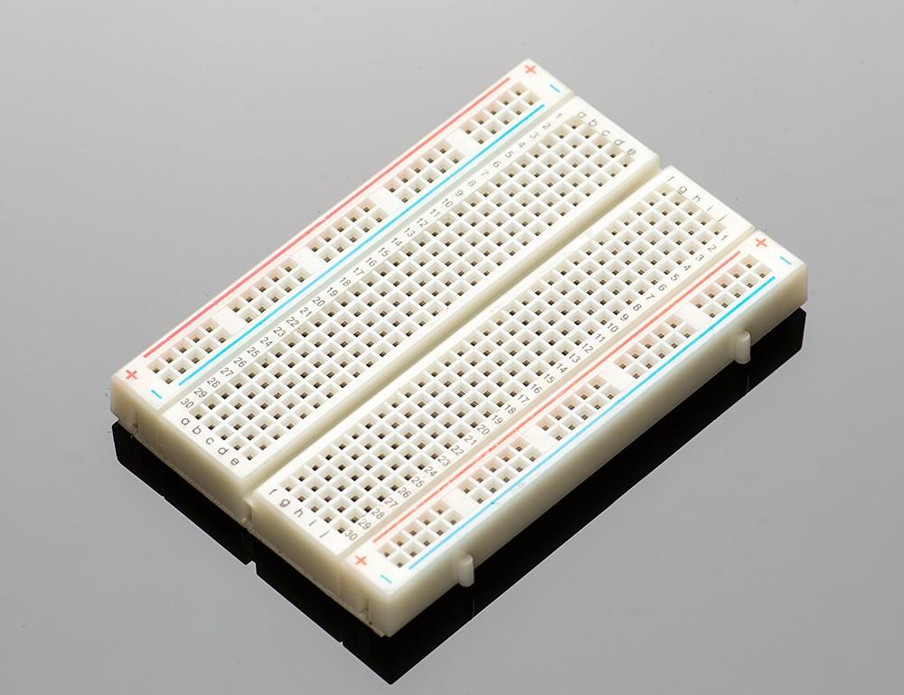Half-size breadboard