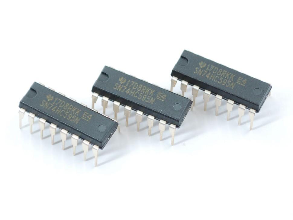 Shift Register 74HC595 - 3 pack