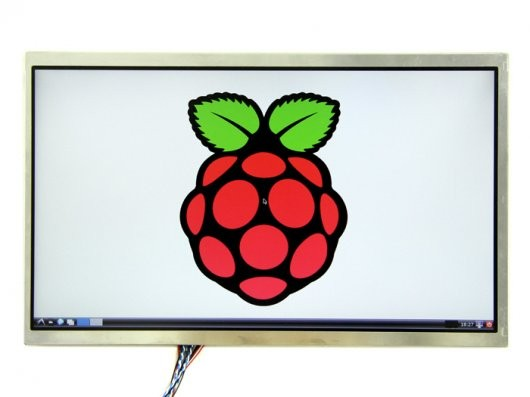 """10.1"""" LCD Display - 1366x768 HDMI/VGA/NTSC/PAL"""