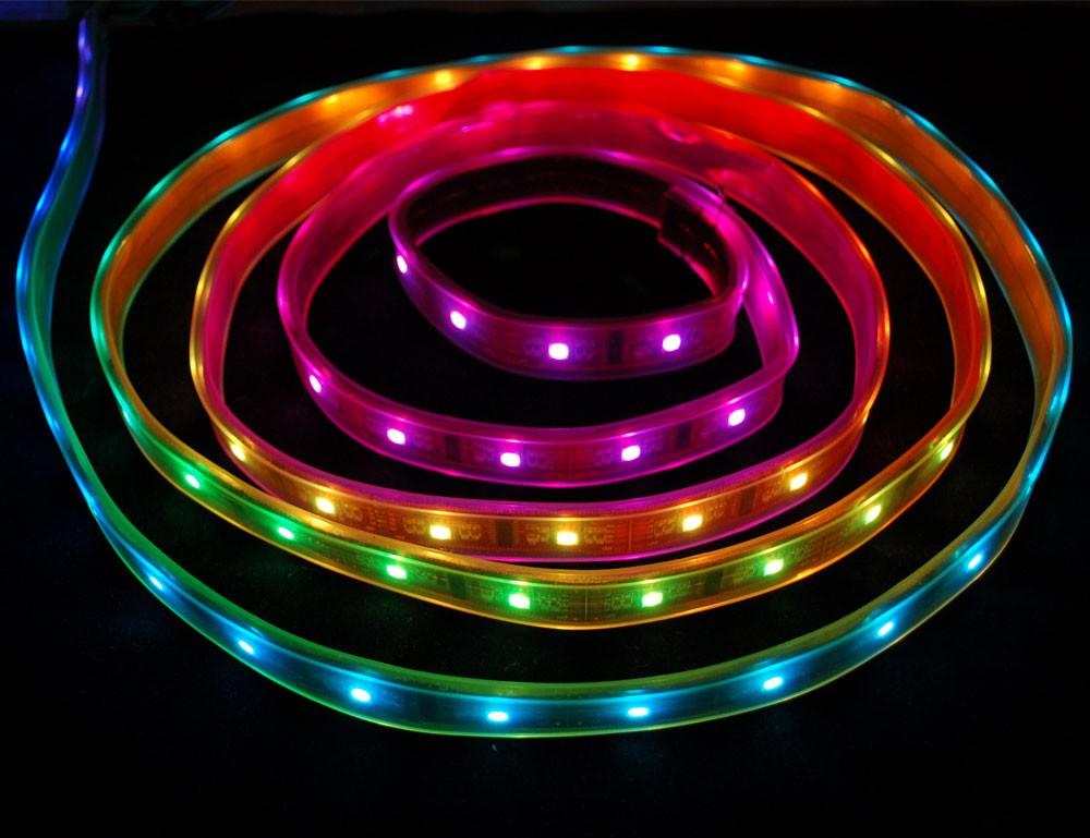 Digital RGB LED Weatherproof Strip 32 LED - (1m)