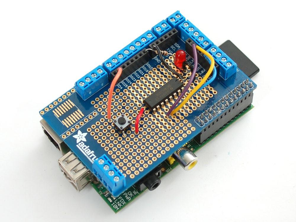 Prototyping Pi Plate Kit for Raspberry Pi