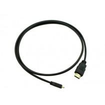 HDMI Male to Micro HDMI Male Cable - 1.5m