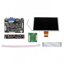 "HDMI/VGA Digital 9"" 9 Inch 1024x600 LCD+Driver Board for Raspberry Pi"