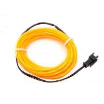 EL Wire - Yellow 3m