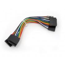 6 pin dual-female jumper wire - 100mm (5 PCs pack)