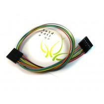 6 pin dual-female jumper wire - 300mm (5 PCs pack)