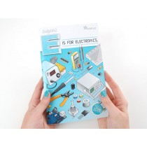 """Coloring book - """"Ladyada's E is for electronics"""""""