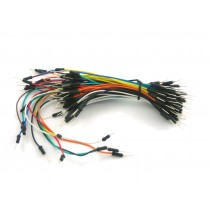 Breadboarding male jumper wire bundle