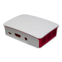 Raspberry Pi 3 Casing (Red/White)