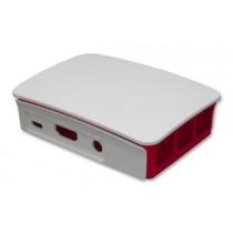 Raspberry Pi 3 Casing (Red/White)