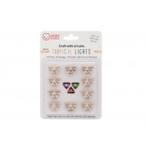 Circuit Stickers Pink, Orange and Green LED Stickers Pack