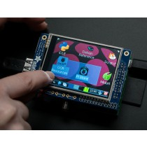 "PiTFT - Assembled 320x240 2.8"" TFT+Touchscreen for Raspberry Pi"
