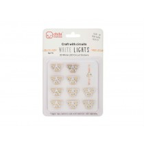 Circuit Stickers White LED Stickers Pack