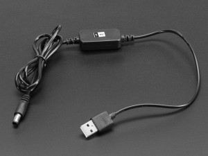 USB to 2.1mm DC Booster Cable - 9V