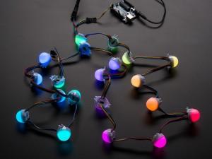 30mm Dots - 12V Digital RGB LED Pixels (Strand of 20) - WS2801